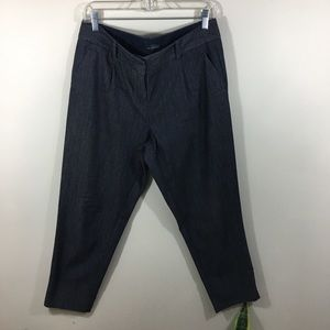 The Limitied Womens Pant Size 8 Charcoal  [200]